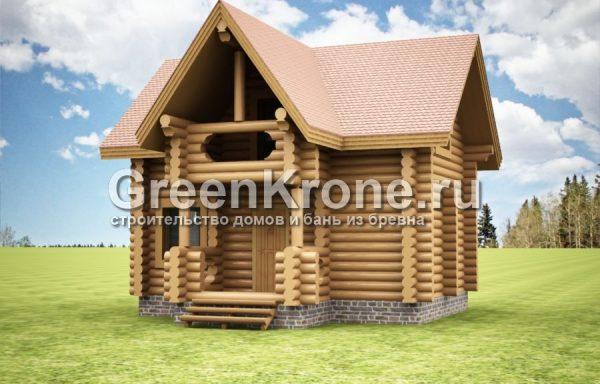 Дом из бревна Есения