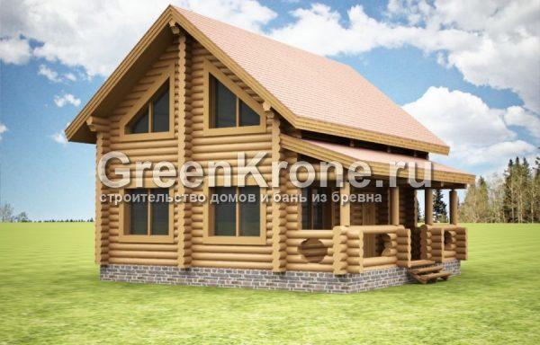 Дом из бревна Ванесса