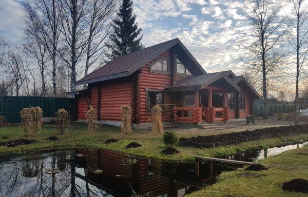 Готовы дом из бревна