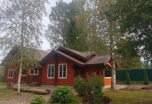 Дом из бревна в Войтолово