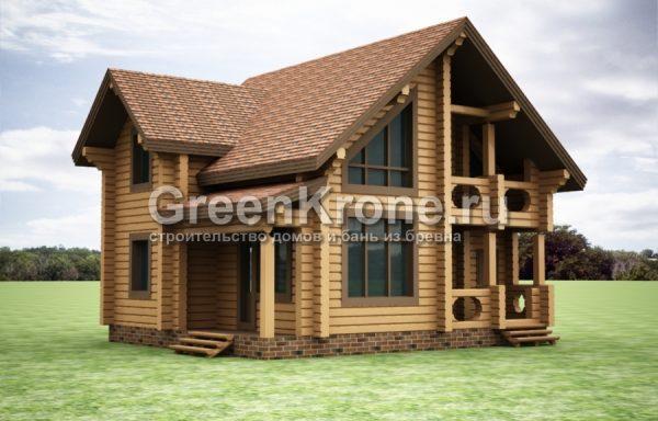 Дом из бруса – проект 41