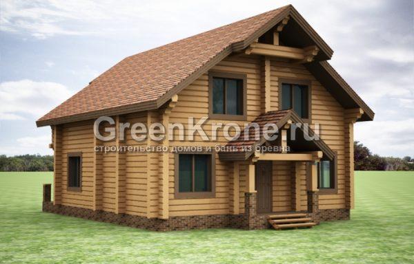 Дом из бруса – проект 42