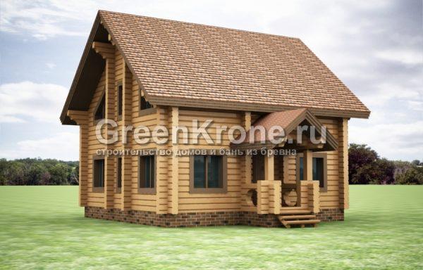 Дом из бруса – проект 37