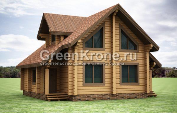 Дом из бруса – проект 31