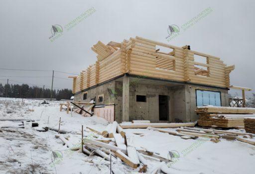 Дом-шале в коттеджном поселке Большая медведица